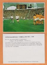 West Germany v Holland 1974 World Cup Beckenbauer (30)